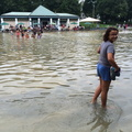 Wading at the Boston Commons