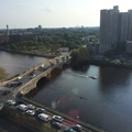 View of the Charles River from our hotel room