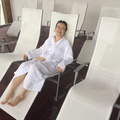 Relaxing at Iceland Spa
