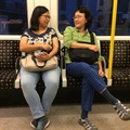 tube ride home